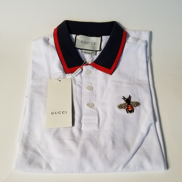 551208dc661 Gucci Shirts | Bee Polo | Poshmark
